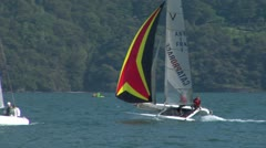 Catamaran 15 e Stock Footage