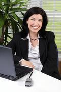female executive - stock photo