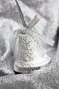 Stock Photo of christmas silver decoration