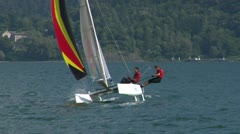 Catamaran 16 e Stock Footage