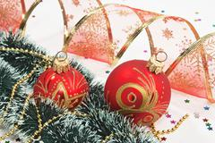 christmas decoration - stock photo