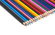 Stock Photo of colored pencils