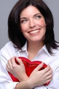 happy heart - stock photo