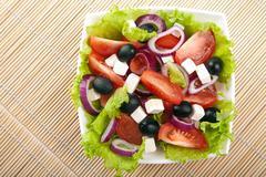 Stock Photo of greek salad