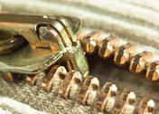 Locking zipper Stock Photos