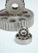 Gears and bearings Stock Photos