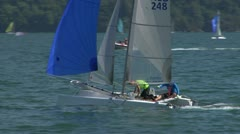 Catamaran 17 e Stock Footage