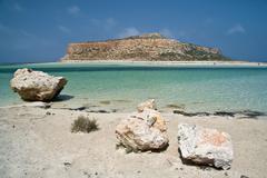 Stock Photo of summer beach and island