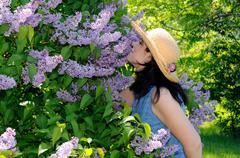 Lilac fragrance Stock Photos