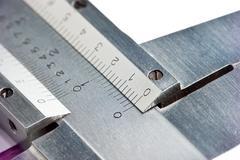 Stock Photo of dial vernier calipers