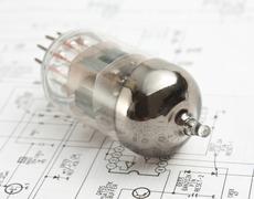Stock Photo of electron tube