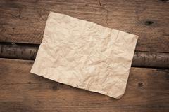 scrap of paper - stock photo