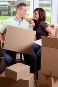 New homeowners Stock Photos
