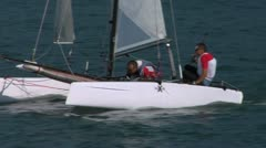 Catamaran 19 e Stock Footage