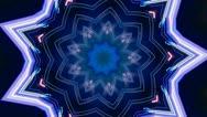 Kaleidoscope Loop Stock Footage
