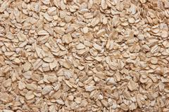 Oat flakes Stock Photos