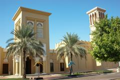 Museum of falconry in the uae Stock Photos