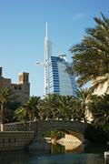Stock Photo of burj al arab seven stars hotel