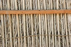 Stock Photo of the old wicker fence