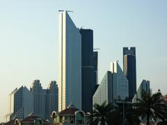 Stock Photo of modern building, dubai, uae