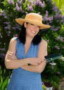 summer gardening - stock photo