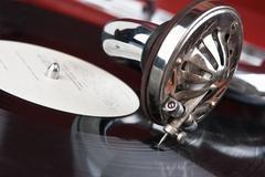 Stock Photo of vintage gramophone