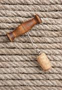 Stock Photo of old corkscrew