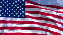 usa flag - stock illustration