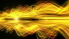 Light Streaks Background - Fractal Background 08 (HD) Stock Footage