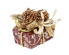 Stock Photo of gift box isolated