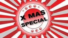 X Mas Special Stock Footage