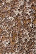 deep rust on metal surface - stock photo