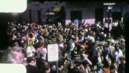 Stock Video Footage of MARDI GRAS FESTIVAL Street Crowd 1950s (Vintage Amateur Film Home Movie) 4145