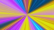 Multi-colored Starburst Glow Stock Footage