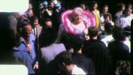 Stock Video Footage of FEMALE IMPERSONATOR Transvestite Mardi Gras 1950s Vintage Film Home Movie 4167