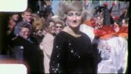 DRAG QUEEN Mardi Gras Carnival 1959 (Vintage Amateur Film Home Movie) 4170 Stock Footage