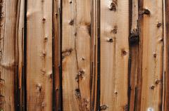 Knotty pine wood background Stock Photos