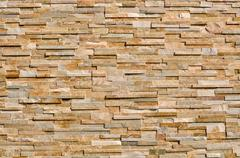 layered multi colored stone background - stock photo