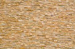 layered multi colored stone - stock photo