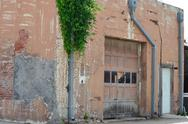 Stock Photo of Weathered building in prosper texas