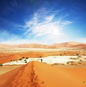 Stock Photo of sand desert