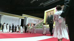 Unification Church headquarters Korea Stock Footage