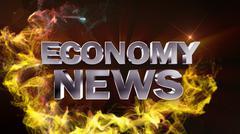 Economy News - stock illustration