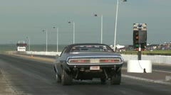Stock Video Footage of motorsports, drag racing, dodge challenger launch