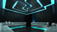 The nightclub for any luxury concept Stock Illustration