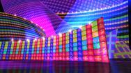 The disco stage set d Stock Illustration