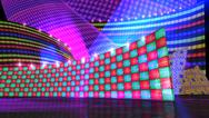 The disco stage set checker Stock Illustration