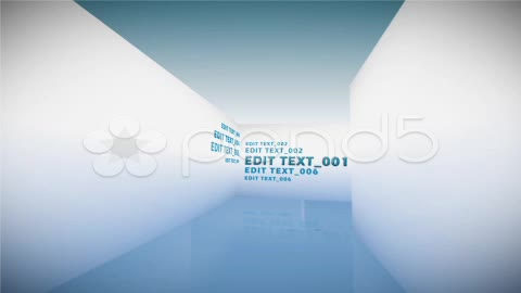 After Effects Project - Pond5 Text Corridor 11963635