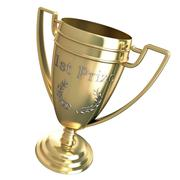 Stock Illustration of first prize trophy