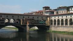 Ponte Vecchio, in Florence Stock Footage